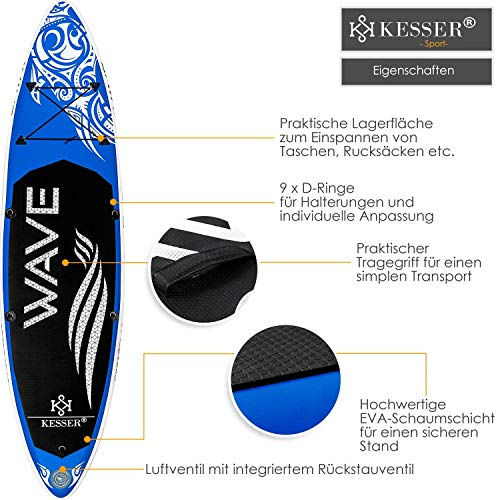 Kesser Stand Up Paddle Board 320 cm - 5