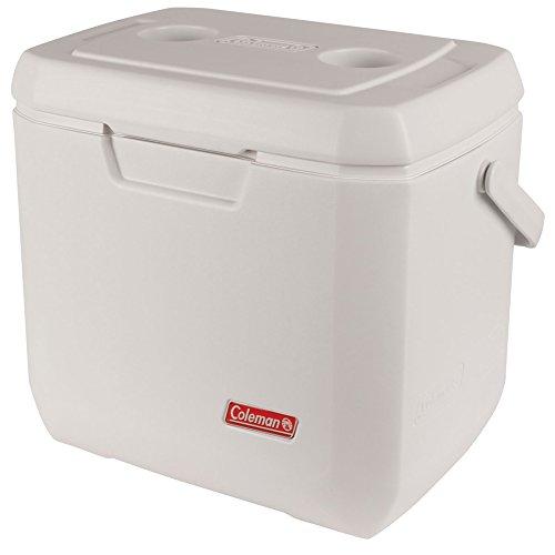 Coleman passive Kühlbox 28Qt Xtreme Marine, Hochleistungskühlbox, kühlt bis zu 3 Tage, mit UV Schutz, Thermobox mit 26 L Fassungsvermögen, mobile passiv Kühlbox mit 2 stabilen Tragegriffen