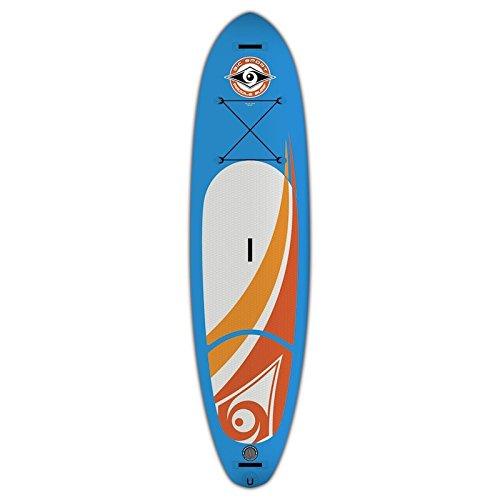 BIC BICSUP Stand up Paddle 10'0 Air SUP Aufblasbare Boards, Weiß, M