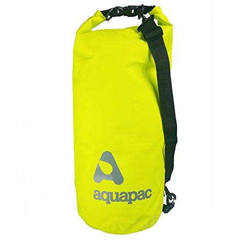 AquaPac Unisex Schwere Schultergurt Wasserdicht Drybag, Acid Green, 25l