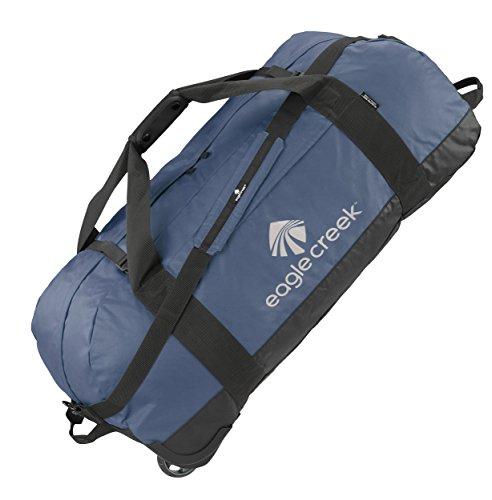 Eagle Creek No Matter What Rolling Duffel Ultraleichte Reisetasche Sporttasche mit Rollen, 91 cm, 128 l, blau/Slate blau
