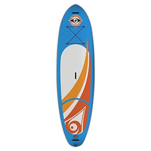 BIC BICSUP Stand up Paddle 10'6 Air SUP Aufblasbare Boards, Weiß, M