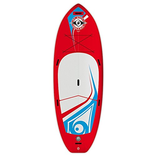 BIC BICSUP Stand up Paddle 9'2 Air SUP River Aufblasbare Boards, Weiß, M