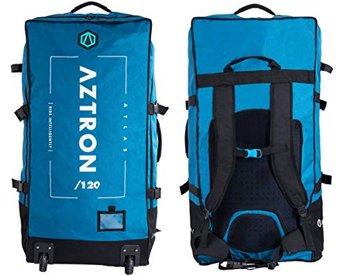 Aztron Atlas Roller Bag Boardbag mit Rollen Inflatable iSUP Stand Up Paddle Board SUP Rucksack 120l