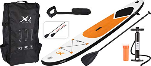 Stand Up Paddle Board 320x75x15cm orange Komplettset