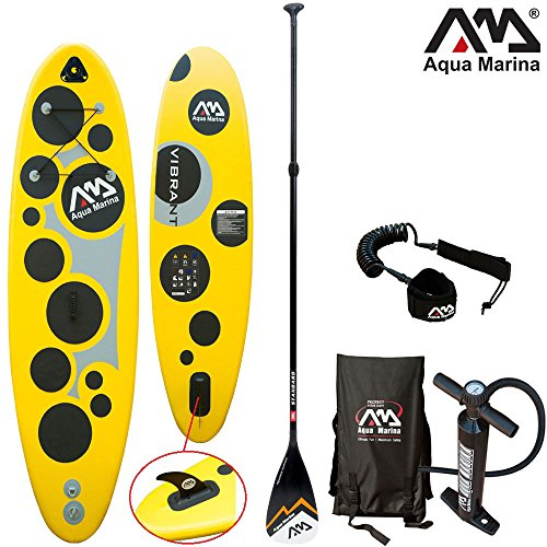 Aqua Marina VIBRANT 8'7' Combo 2 / Stand Up Paddelboard inkl. Pumpe, Finne, Paddel, Tragetasche & SUP Leine