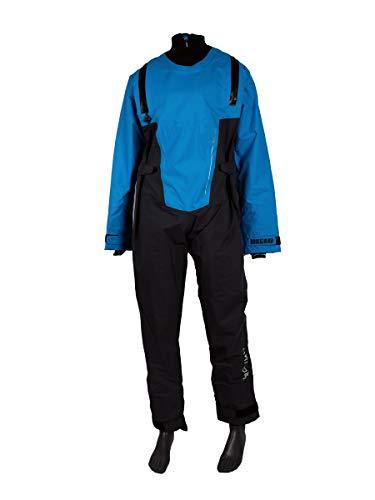 Prolimit Nordic Front Zip SUP Stand Up Paddel Drysuit Dry Steel Blue - Leichtes Atmungsaktiv - Unisex
