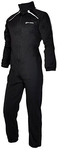 Dry Fashion Underall 260 g Antipilling Fleece, schwarz, Größe:L
