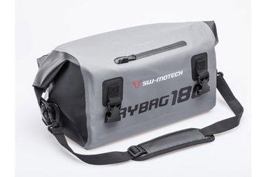 SW-MOTECH BC.WPB.00.018.10000 Drybag 180 Hecktasche 18L, Grau/Schwarz, Wasserdicht