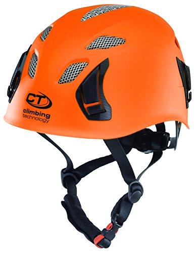 Climbing Technology Stark Kletterhelm/Rafting-Helm, Unisex - Erwachsene, Stark, orange