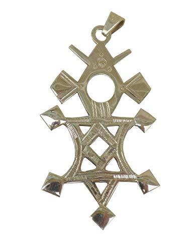 Großes Kreuz des Südens Tuareg 'Karaga' aus massivem Silber 925 ('Teneghelt') TOU06 (2)
