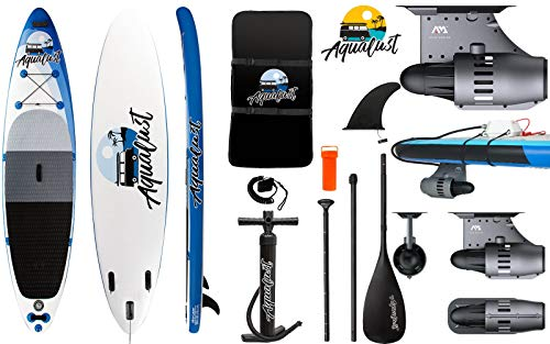 AQUALUST 12'0' SUP Board Stand Up Paddle Surf-Board BlueDrive S Power Fin Motor mit Akku