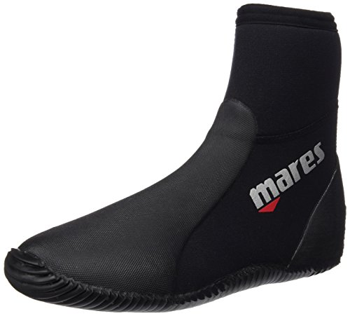 Mares Unisex Dive Boots Classic NG 5 mm, black/grey, 41/42 (US 9), 41261909050