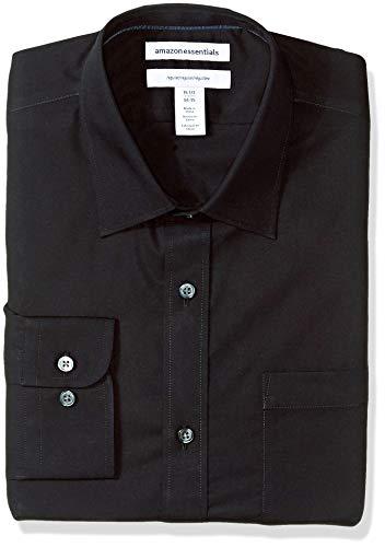 Amazon Essentials dress-shirts, schwarz, 15.5' Neck 32'-33' Sleeve
