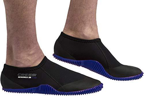 Cressi Minorca Shorty Boots 3mm - Niedrige 3-mm-Neoprenstiefel für Tauch- und Wasseraktivitäten, Unisex-Erwachsene