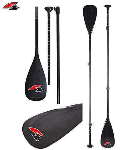 F2 Carbon PRO Profi SUP Paddel Stand up Paddle 3-teilig super leicht 750g