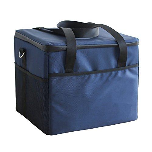 Fee-lice Kühltasche Kühlbox Wasserdichte Lunch Tasche Isolierte Thermo Picknicktasche für Lebensmitteltransport Camping Isoliertasche Kühlkorb Thermotasche Campingtasche Isolierbox (37L)