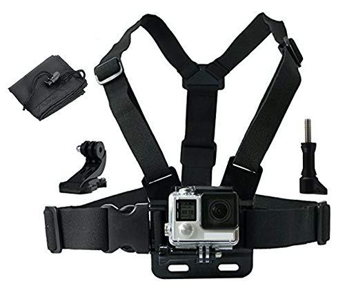 LONDON FAB Action-Kameragurte, kompatibel mit Allen Gopro- und Action-Kameras (Brustgurt)