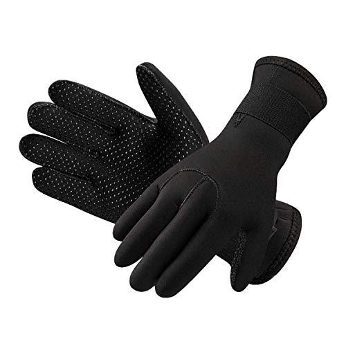 High Stretch Neoprenhandschuhe Tauchen Handschuhe 3 mm Anti-Rutsch-Tauchen Gloves Surfen Schwimmen Schnorchelhandschuhe Segeln Kajakfahren Kanufahren Thermohandschuhe für Erwachsene und Jugendliche