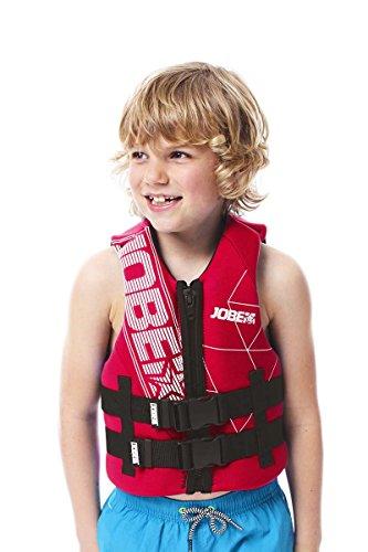 Jobe Kinder Neopren Schwimmweste, Rot, S/M