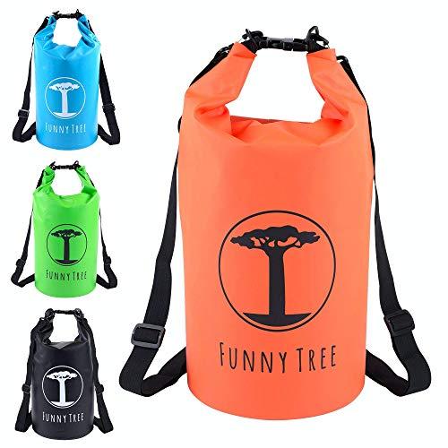 Funny Tree Dry Bag. Wasserfester (IPx6), optimierter Packsack 30L / 20L / 10L. Als Camping Zubehör | Schlauchboot | Kajak | Rafting | Kanu | Schwimmen | Strand | Bootfahren | Camping | Tauchen