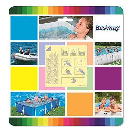 Bestway Flicken Wasserfeste Selbstklebende Reparaturflicken 10 Stück, , 62091
