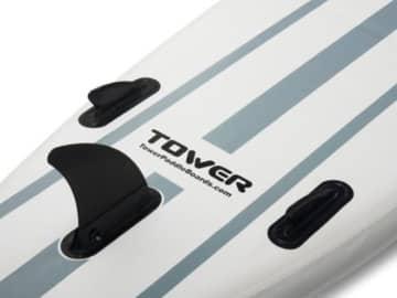 Aufblasbares Board für Stand up Paddling (15 cm dick) inklusive Luftpumpe und Paddel - 4