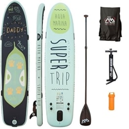 AQUA MARINA, SUPER TRIP+CARBON-Paddle+LEASH, Paddle Board, SUP, 330x75x15 cm - 1