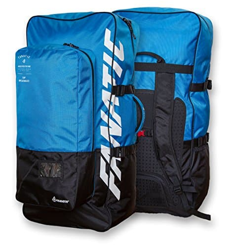 FANATIC PREMIUM BAG Fly Air Boardbag Inflatable iSUP Stand Up Paddle Board SUP Rucksack BLUE - 1