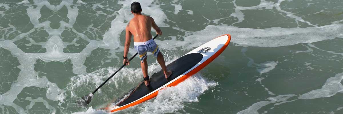 sup boards für fortgeschrittene stand up paddler bild aus vogelperspektive