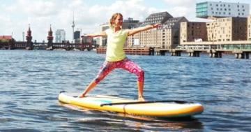 interview severine vom standupclub über sup yoga für anfänger