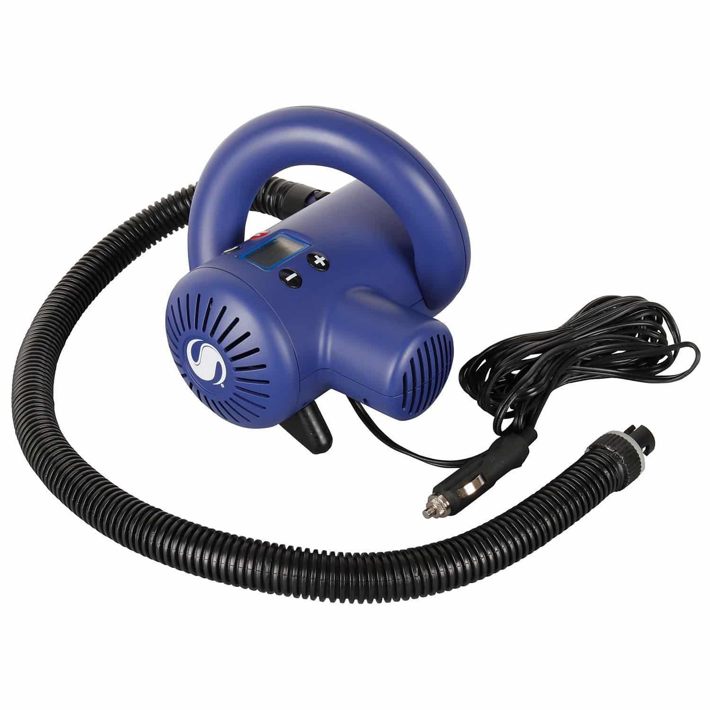 Sevylor Hochdruckluftpumpe 12V mit Abschaltautomatik Blau
