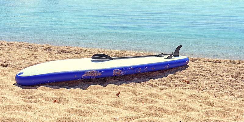 Finne für Stand Up Paddle Board zum Einschieben