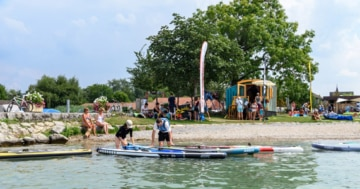 sup station erlach im panorama