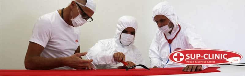drei mitarbeiter der sup clinic