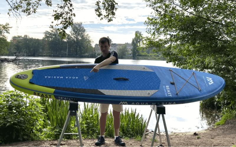 Aqua Marina Beast mit SUP Board Experte Max