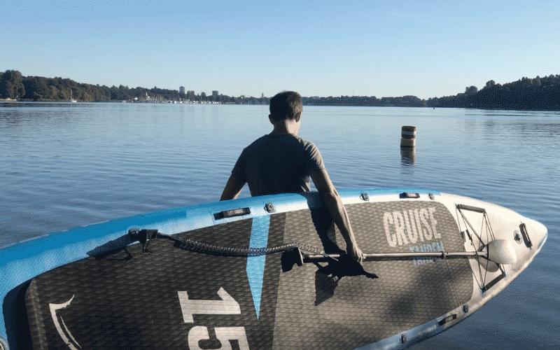 Bluefin Cruise Tandem mit SUP Board Experte Max
